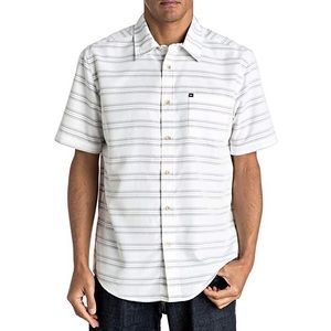 ✨HP✨ Quiksilver Seajam Short Sleeve Striped Shirt
